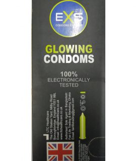 EXS Glowing Comdom. Made in UK. Quantity: 10*3= 30 Pcs