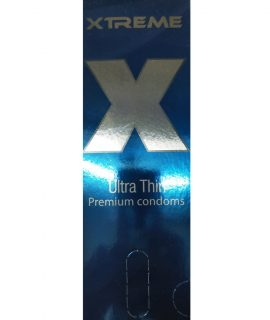 Xtreme Ultra Thin Premium Condom. Made in Malaysia. Quantity: 12*3= 36 Pcs