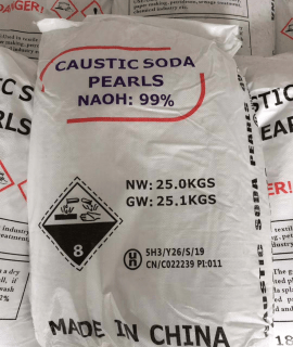 Caustic Soda Pearl 99%